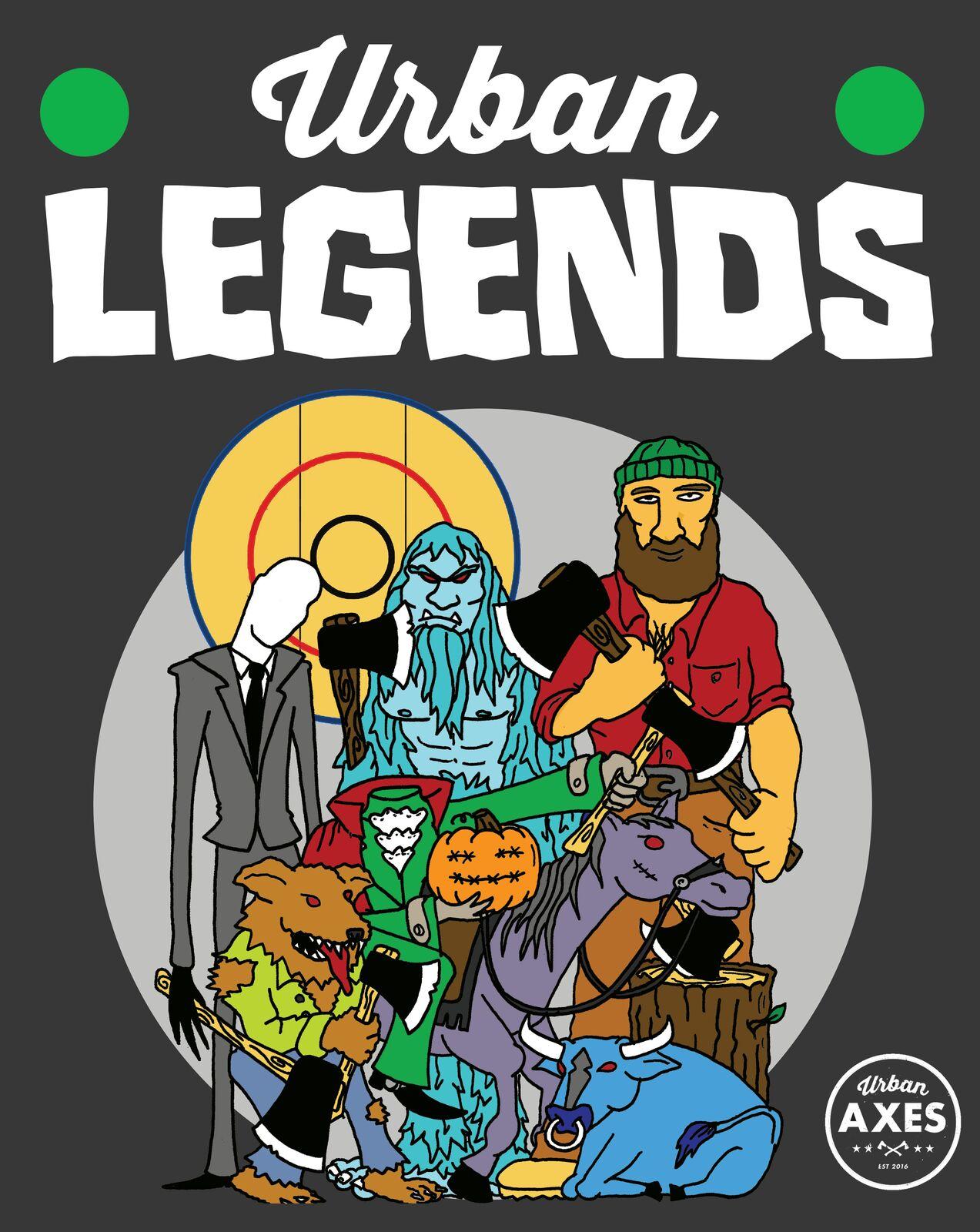 Urban Legends Poster